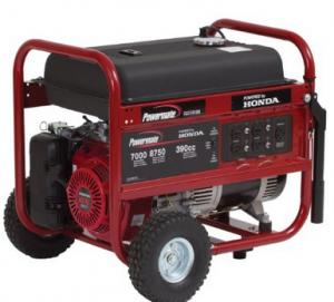 Powermate PM0497000.04 8,750 Watt 389cc 13HP Honda GX390 Gas Powered Portable Generator