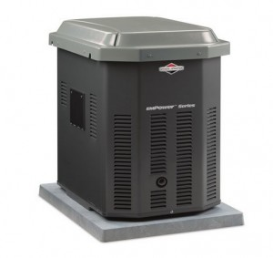 Briggs & Stratton 40301 7,000 Watt EmPower Natural GasLiquid Propane Powered Air Cooled Home Standby Generator (CARB Compliant)