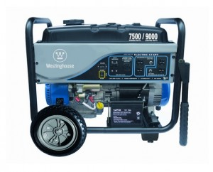 Westinghouse WH7500E Portable Generator, 7500 Running Watts9000 Starting Watts